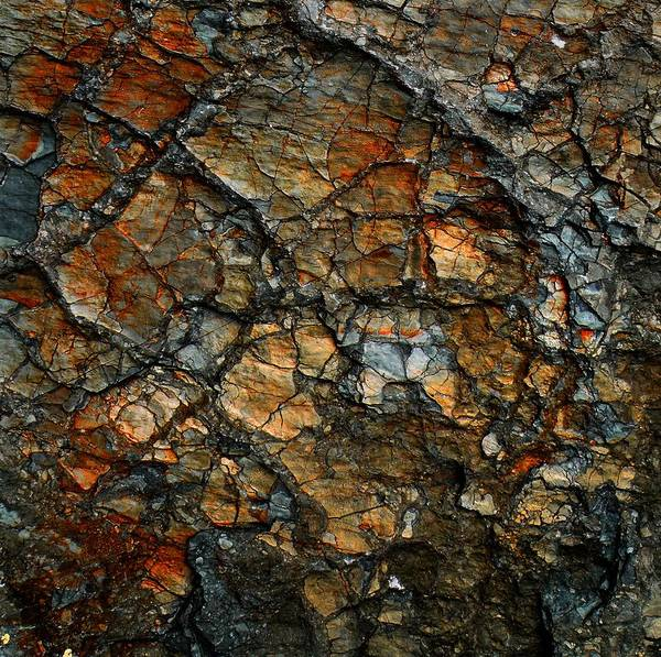 Sedimentary Abstract Art Print