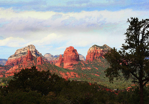 Wall Art - Photograph - Sedona Arizona Mysterious Landscape by Irina Sztukowski