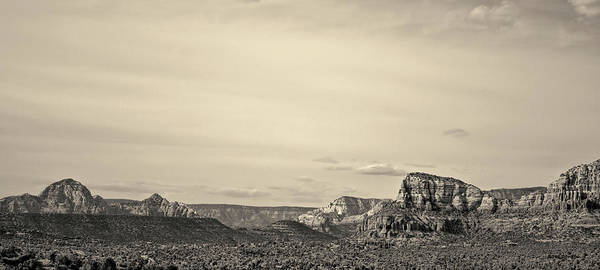 Photograph - Sedona Arizona Panorama I Toned by David Gordon
