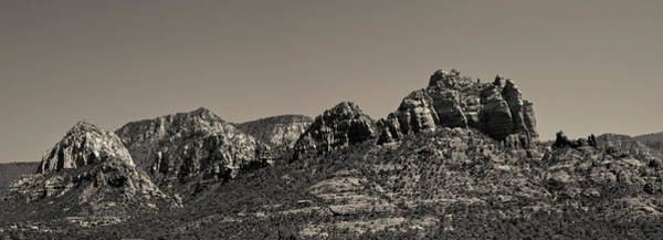 Photograph - Sedona Arizona Panorama II Toned by David Gordon