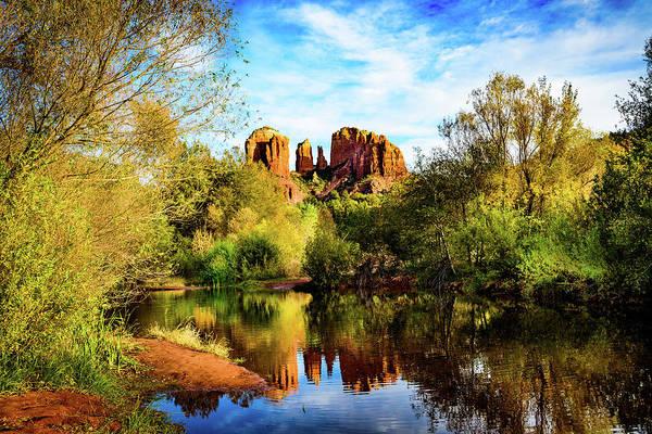 Wall Art - Photograph - Sedona Arizona - Red Rock Crossing by Jon Berghoff