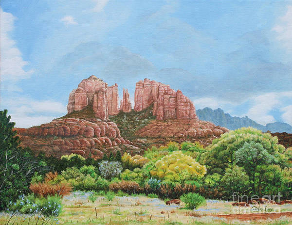 Painting - Sedona Az by Mike Ivey