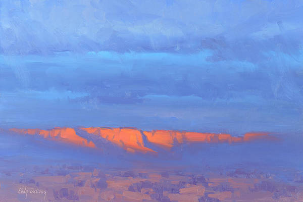 Wall Art - Painting - Sedona Emerging by Cody DeLong