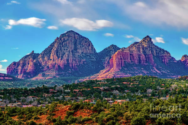 Photograph - Sedona Hills by Jon Burch Photography