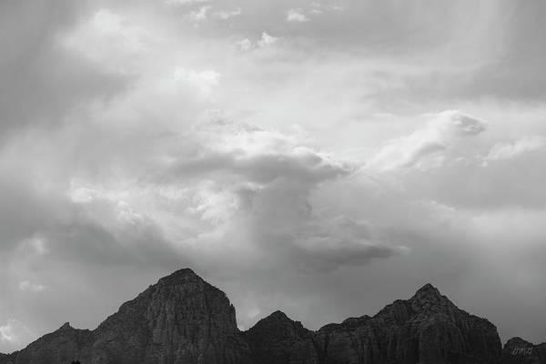 Photograph - Sedona Landscape Xxii Bw by David Gordon