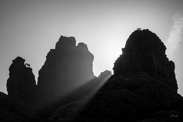 Photograph - Sedona Landscape Xxiii Bw by David Gordon