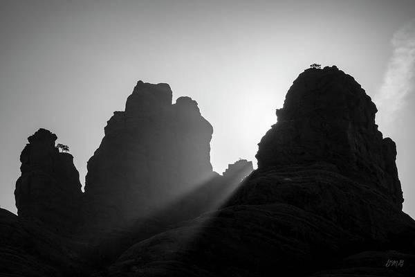 Photograph - Sedona Landscape Xxiii Bw by David Gordon