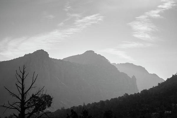 Photograph - Sedona Landscape Xxv Bw by David Gordon