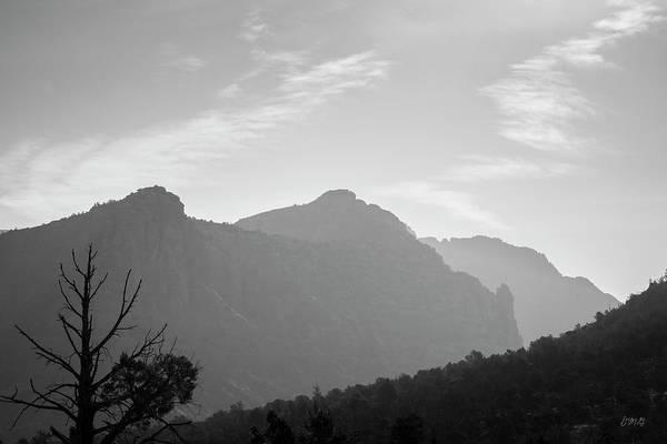 Photograph - Sedona Landscape Xxv Bw by David Gordon