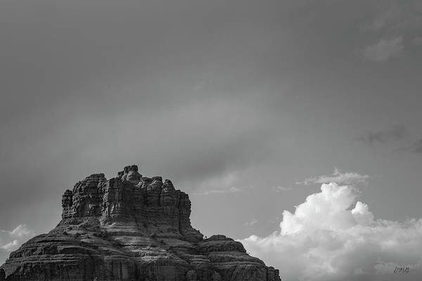 Photograph - Sedona Landscape Xxvi Bw by David Gordon