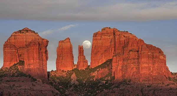 Photograph - Sedona Moon by Loree Johnson