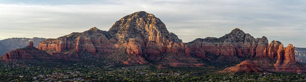 Photograph - Sedona Scenic View 7828-101717-1-pano by Tam Ryan