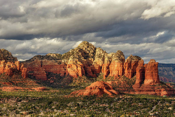 Photograph - Sedona Skyline by James Eddy