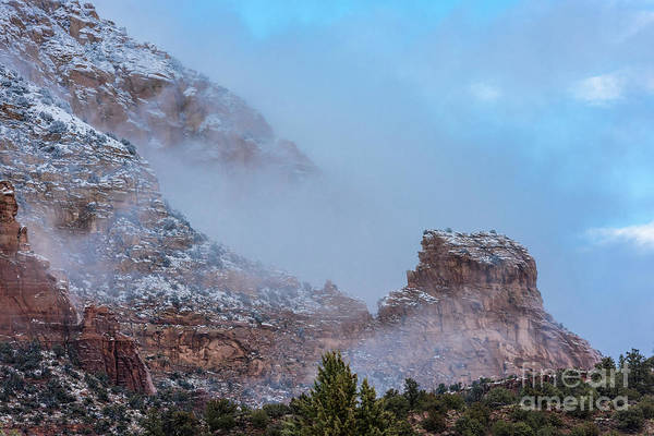 Wall Art - Photograph - Sedona Winter by Sandra Bronstein