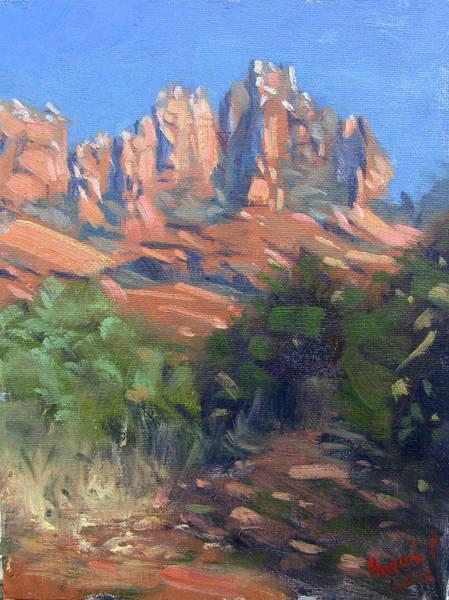 Flagstaff Painting - Sedona by Ylli Haruni
