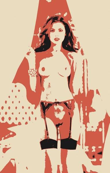 Nipples Drawing - Seduce Me, Again - Beauty Of Womans Body by Casemiro