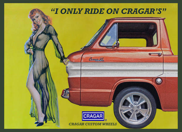 Corvair Photograph - Seductive Sales Pitch by Christopher McKenzie