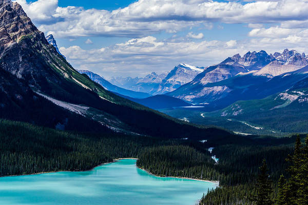 Peyto Lake Wall Art - Photograph - See Far by Britten Adams