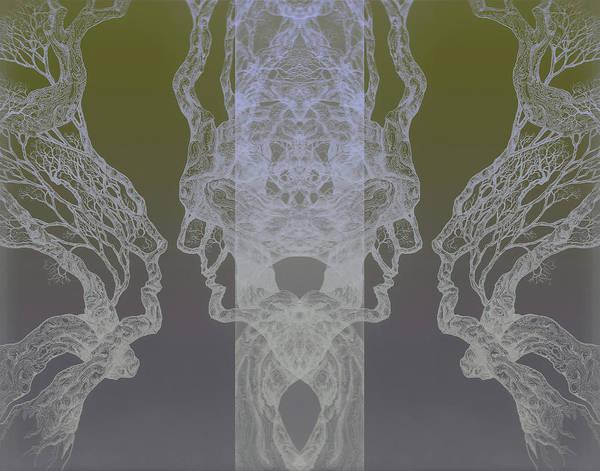 See Oneself Tree 11 Hybrid 3  Art Print