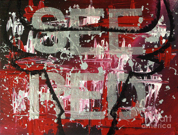 Painting - See Red Chicago Bulls by Melissa Jacobsen