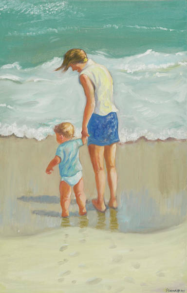Painting - See The Sea by Laura Lee Cundiff