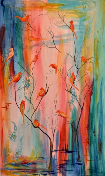 Painting - See Who Is There With You, And Celebrate by Beverley Harper Tinsley