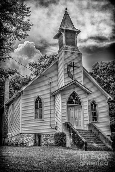 Photograph - Seebert United Methodist Church by Thomas R Fletcher