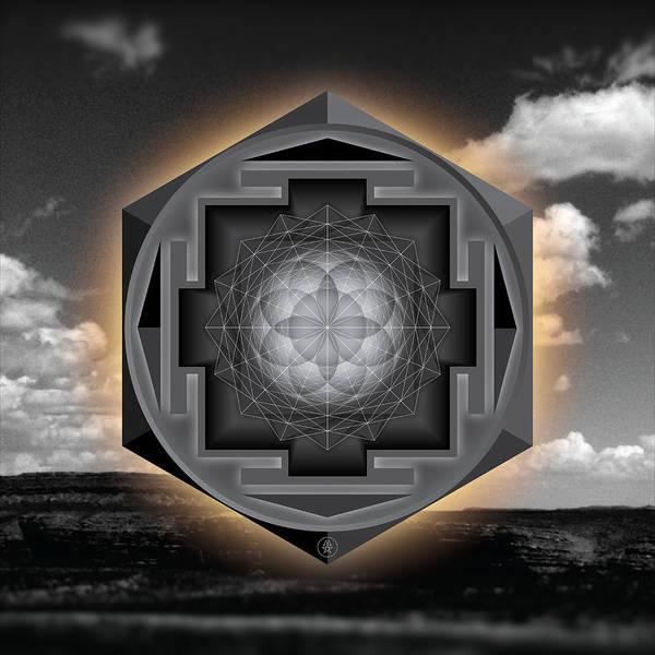 Wall Art - Photograph - Seed Of Life Desert Mandala by Milton Thompson