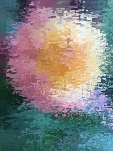 Pod Mixed Media - Seed Pod Abstract by Sharmaine Rayner