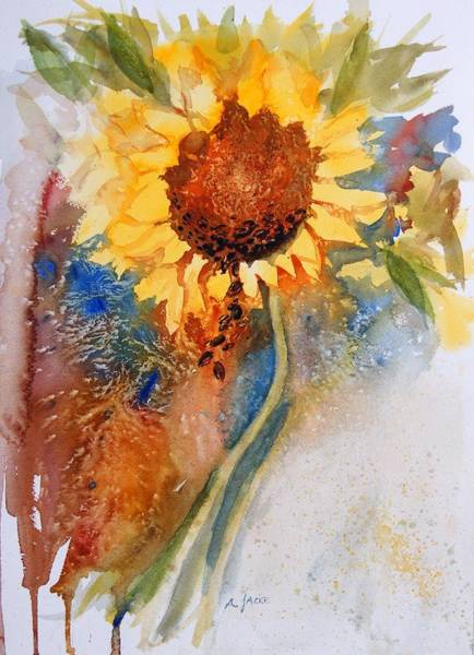 Painting - Seeds Of The Sun by Anna Jacke