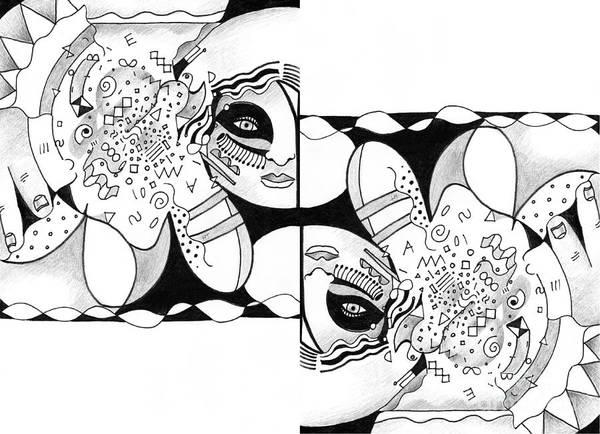 Digital Art - Seeking Alignment by Helena Tiainen