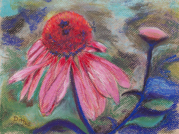 Wall Art - Painting - Seeking Nectar by Chrissey Dittus