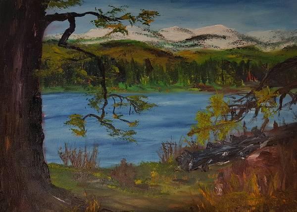 Painting - Seeley Lake    40 by Cheryl Nancy Ann Gordon