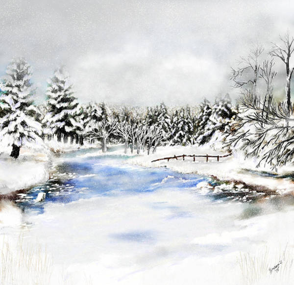 Painting - Seeley Montana Winter by Susan Kinney