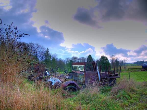 Photograph - Seen Better Days by Lawrence Christopher