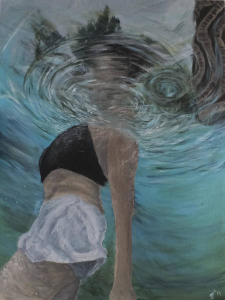Painting - Seen From Below by Davend Dominick
