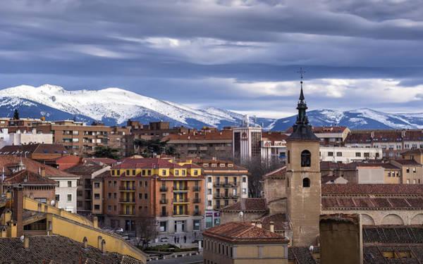 Cielo Wall Art - Photograph - Segovia by Hernan Bua
