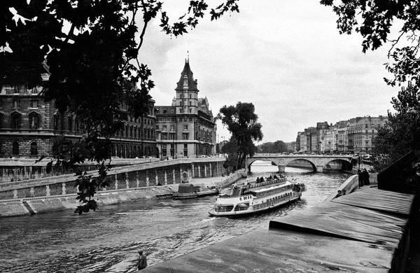 Photograph - Seine Paris by Lee Santa