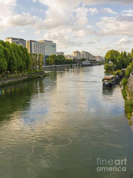 Photograph - Seine River At La Defense by Elaine Teague