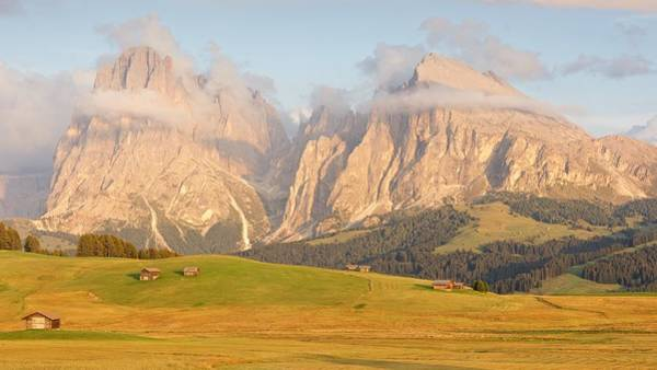 Photograph - Seiser Alm At Sundown by Stephen Taylor