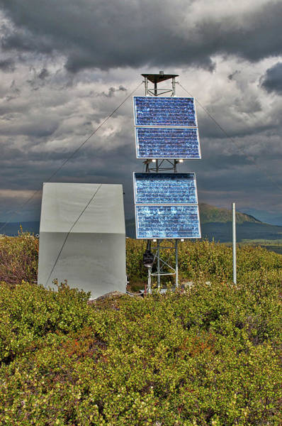 University Of Alaska Photograph - Seismic Research by Cathy Mahnke