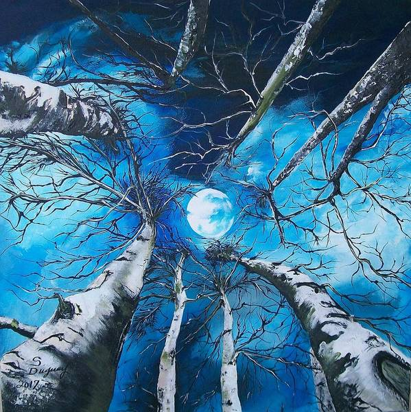 Painting - Selenophilia by Sharon Duguay