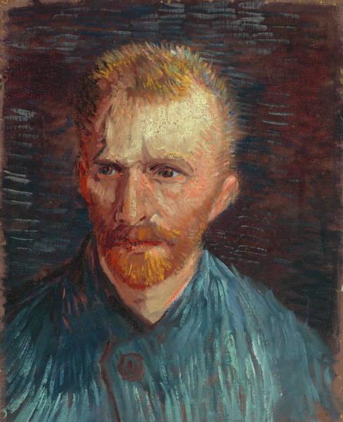 Selfportrait Painting - Self Portrait 1887 07 by Vincent Van Gogh