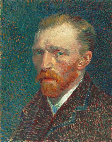 Selfportrait Painting - Self Portrait 1887 09 by Vincent Van Gogh