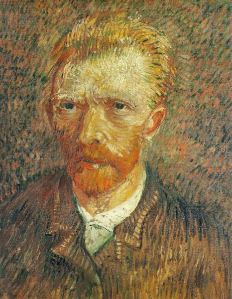 Selfportrait Painting - Self Portrait 1887-88 by Vincent Van Gogh