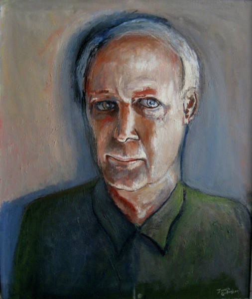 Wall Art - Painting - Self-portrait 2016 by James Gallagher