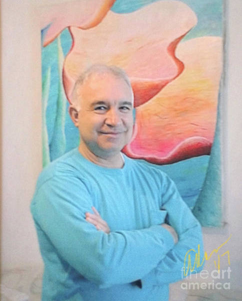 Rights Managed Images Wall Art - Photograph - Self Portrait 4 - Circa Mid-80s With 40x60 Art by Felipe Adan Lerma