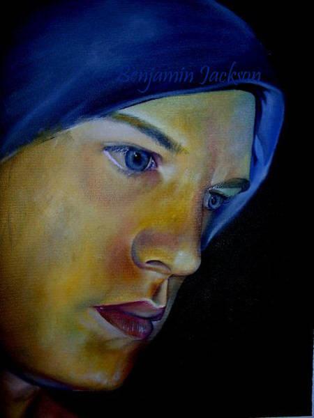 Ben Jackson - Self portrait