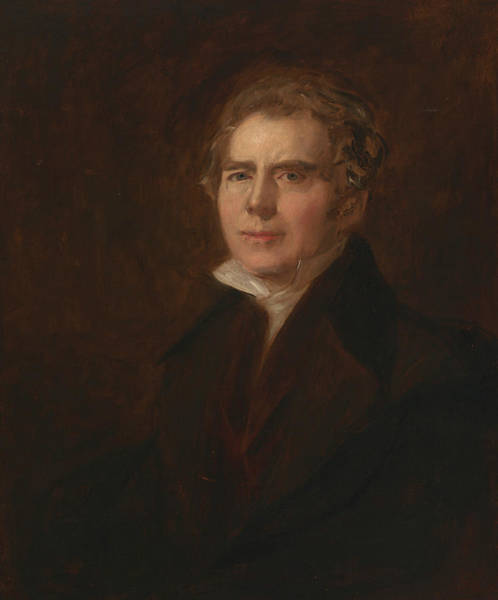 Painting - Self-portrait by David Wilkie