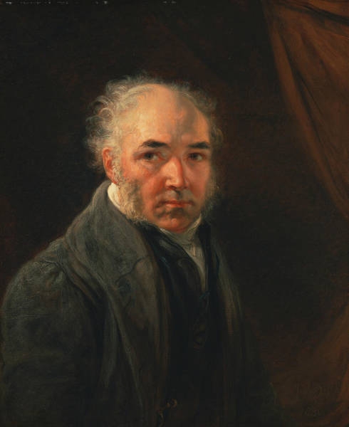 Ward Painting - Self-portrait by James Ward